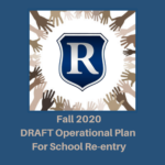 Fall 2020 operational Plan For School Re-entry